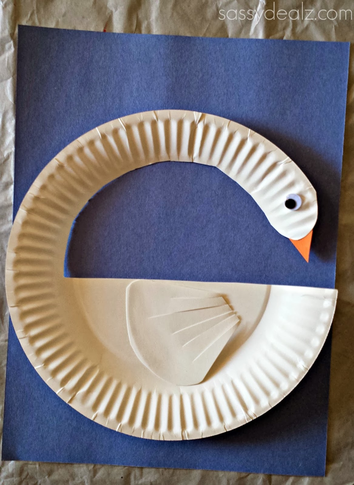 Craft With Paper Plates Diy Swan Paper Plate Craft For Kids Crafty Morning Craftrating