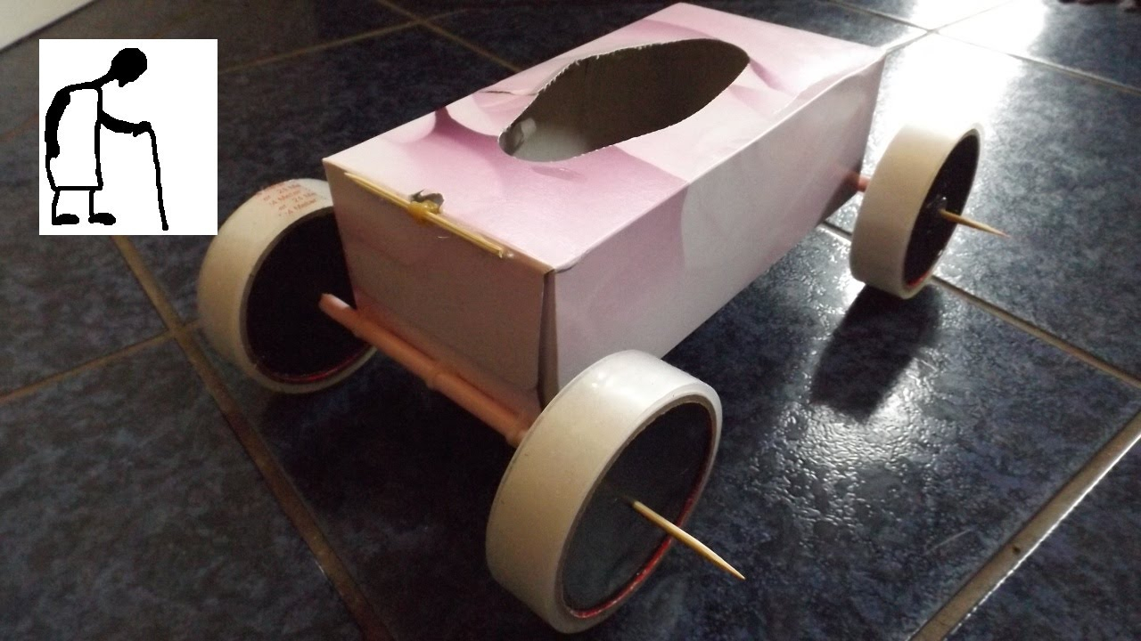 Toilet Paper Roll Car Craft for Preschool Students Tissue ...